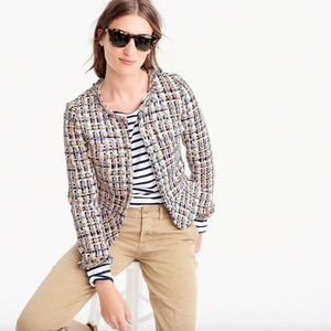 J.Crew Collection Lady Jacket in French Tweed